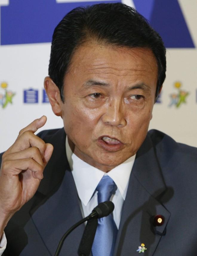 Taro Aso: desafio de recuperar país | Toru Hanai/Reuters