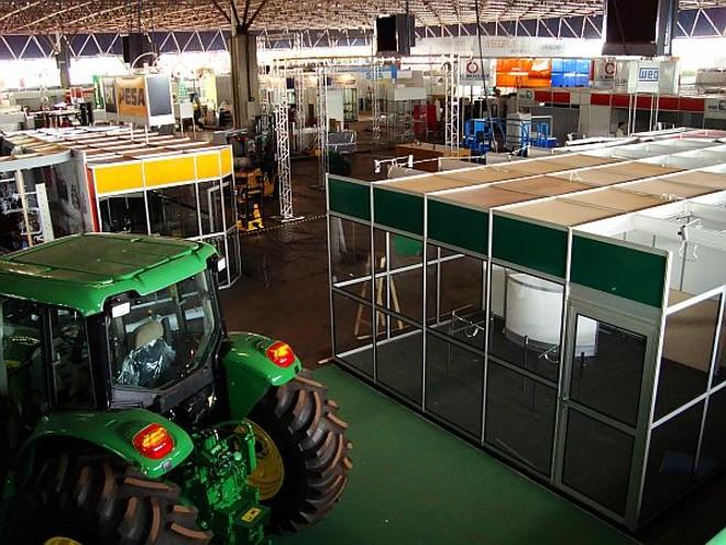 Feira reunirá 150 marcas ligadas ao setor metal-mecânico e sucroalcooleiro. | Otavio Rossi/Gazeta do Povo