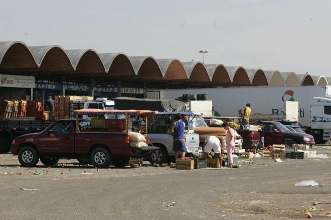 Ceasa de Curitiba: assaltos constantes são motivo de queixa dos comerciantes | Aniele Nascimento/Gazeta do Povo