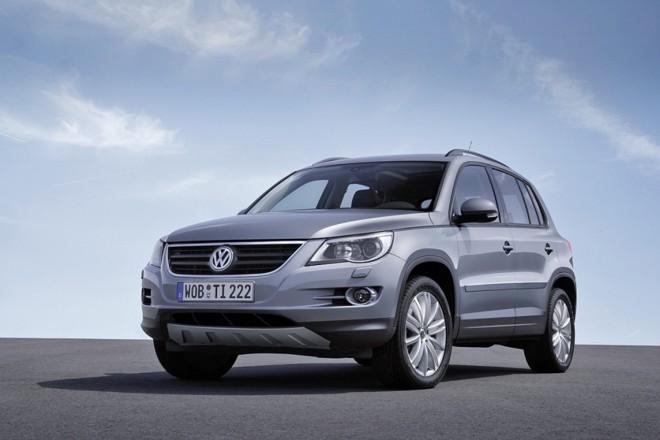 Volkswagen Tiguan: jipe derivado do Golf será importado a partir de março de 2009 com motor 2.0 de 200 cv | Fotos: Divulgação