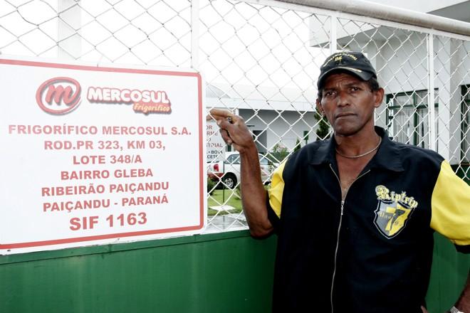 Adão Aparecido da Silva foi um dos funcionários que ficou surpreso com a demissão | Ivan Amorim/Gazeta do Povo