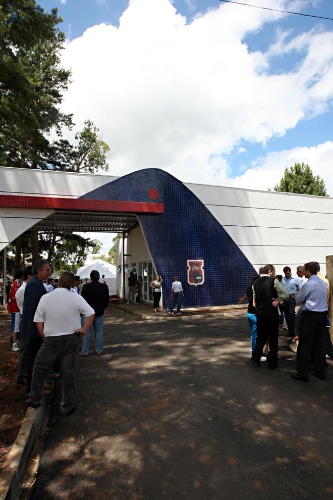 Inauguração do Ninho da Gralha marca uma nova era no Paraná Clube, que completou 19 anos nesta sexta | Albari Rosa / Gazeta do Povo