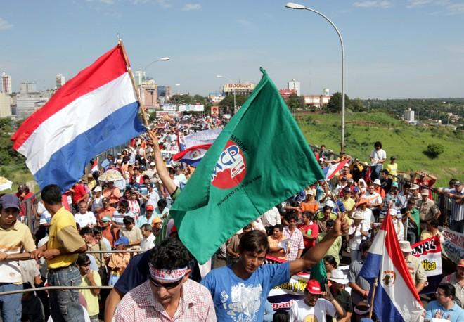 Manifestação durou cerca de uma hora | Christian Rizzi/Gazeta do Povo