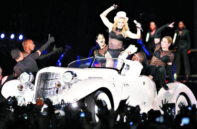 Madonna marcou uma das turnês mais lucrativas de 2008 | Sérgio Moraes/ Reuters