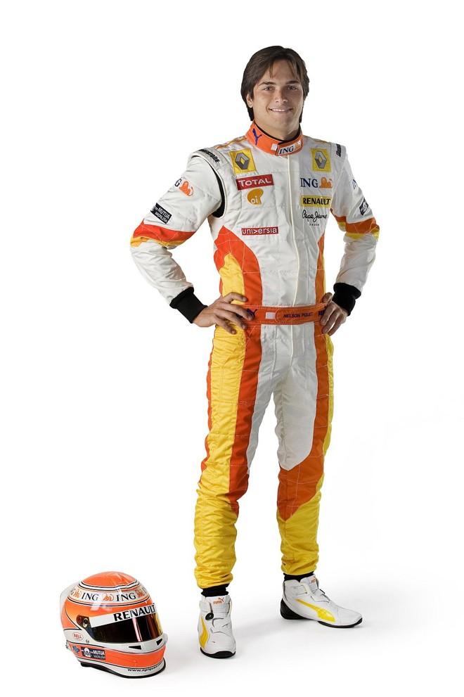 Nelsinho Piquet está otimista com a Renault para o começo de temporada | Bernard Asset/Divulgação