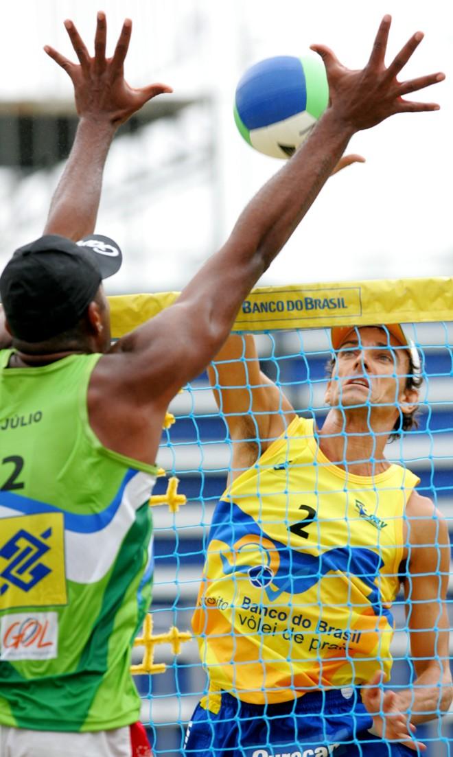 Emanuel decepcionou a torcida, que esperava vê-lo na final. | Divulgação/ CBV