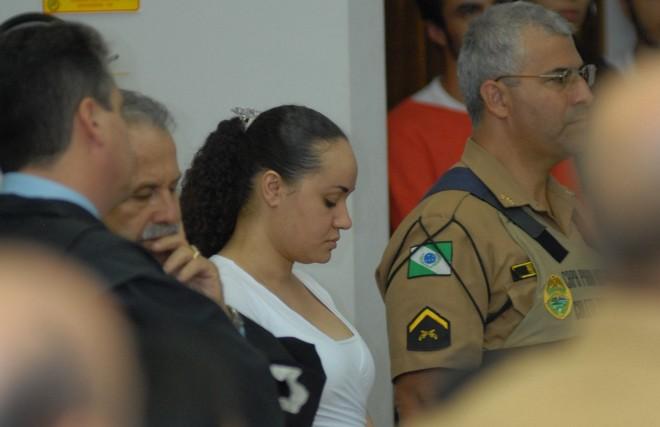 Siumara de Castro Santana, que está presa desde outubro de 2004, e recebeu pena de 36 anos de prisão em regime fechado: crime hediondo, por motivo torpe, tirou vida de uma criança | Mauricio Borges