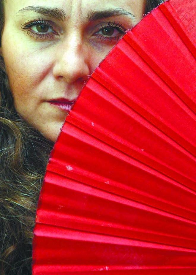 """La Talegona: """"No flamenco, nenhum um baile é igual ao outro. Nada se repete""""   Priscila Forone/Gazeta do Povo"""