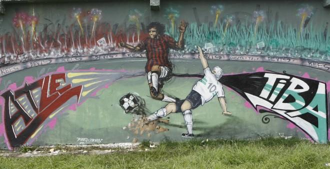 Atletiba deste domingo, às 15h50, na Arena da Baixada, pode definir o campeão estadual de 2009 | Aniele Nascimento / Gazeta do Povo