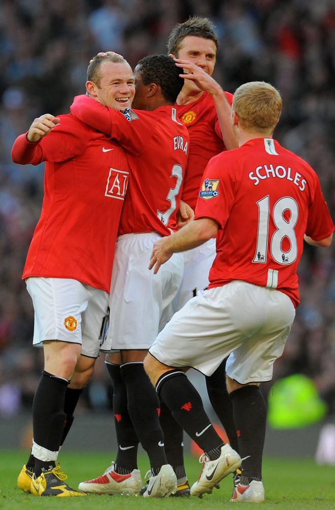 Diabos Vermelhos saíram atrás, porém conseguiram bela virada para vencer no Old Trafford   Andrew Yates / AFP