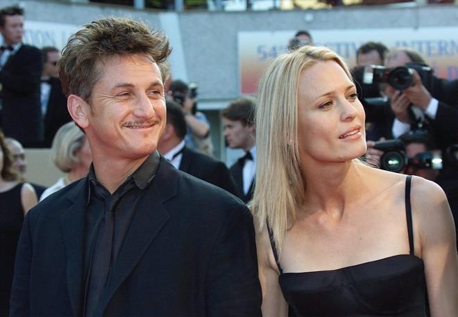 Sean Penn ao lado da atual mulher Robin Wright Penn | Reuters