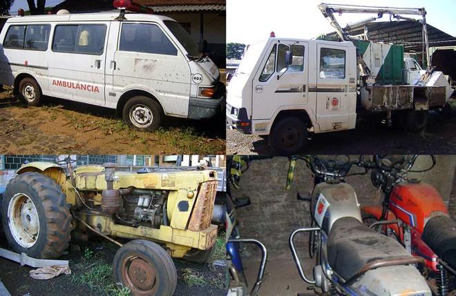 Os veículos fazem parte da frota da Prefeitura de Maringá, que está sendo renovada | Divulgação/PMM