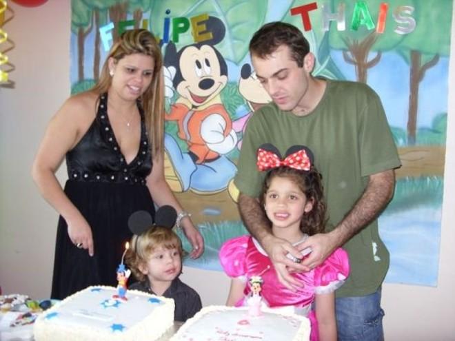 Dayana, Rafael, Thaís e Felipe: apenas autópsia do filho menor foi concluída | Arquivo de família