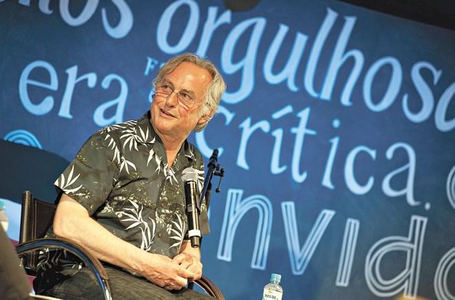 O geneticista britânico Richard Dawkins lamentou que A Origem das Espécies, estudo de Charles Darwin, não seja mais conhecido e estudado ao redor do mundo | Fotos: Walter Craveiro/divulgação