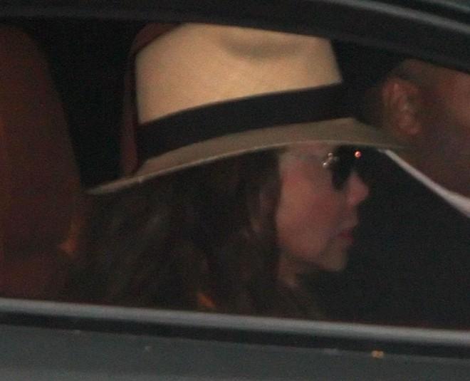 La Toya Jackson na chegada ao velório particular de Michael Jackson | AFP