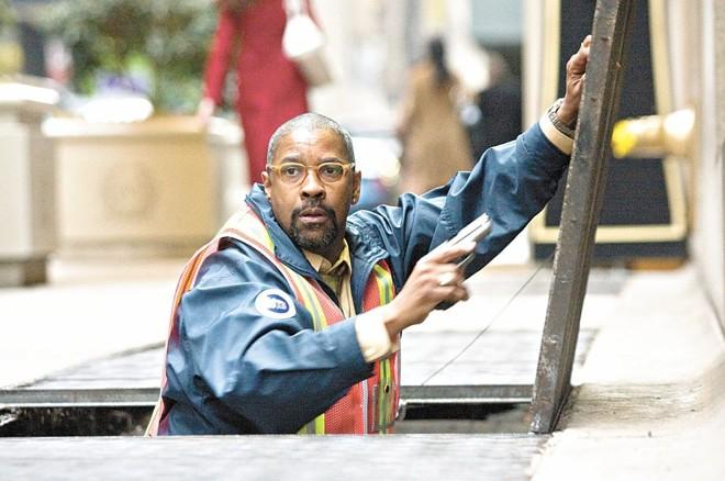 Denzel Washington: sujeito comum que se torna próximo do vilão John Travolta | Divulgação