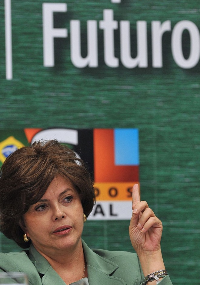 Dilma: isso aqui a Deus pertence. | Fabio Rodrigues Pozzebom/ABr