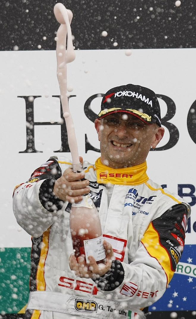 Campeão em 2009, Gabriele Tarquini deverá defender o título neste ano | Jonathan Campos / Agência Gazeta do Povo