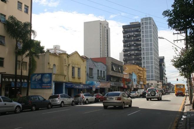Rua 24 de Maio: imóveis comerciais disputados pela proximidade com o Centro | Priscila Forone/ Gazeta do Povo