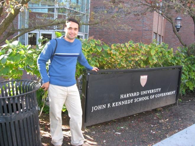 Maurílio: pós a distância deu conhecimento suficiente para se candidatar ao mestrado em Harvard | Arquivo pessoal