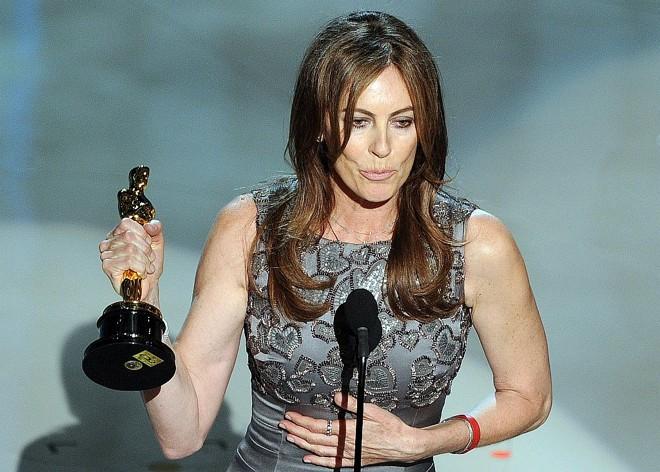 Kathryn Bigelow levou duas estatuetas: melhor direção e filme. Ela é também uma das produtoras de Guerra ao Terror |