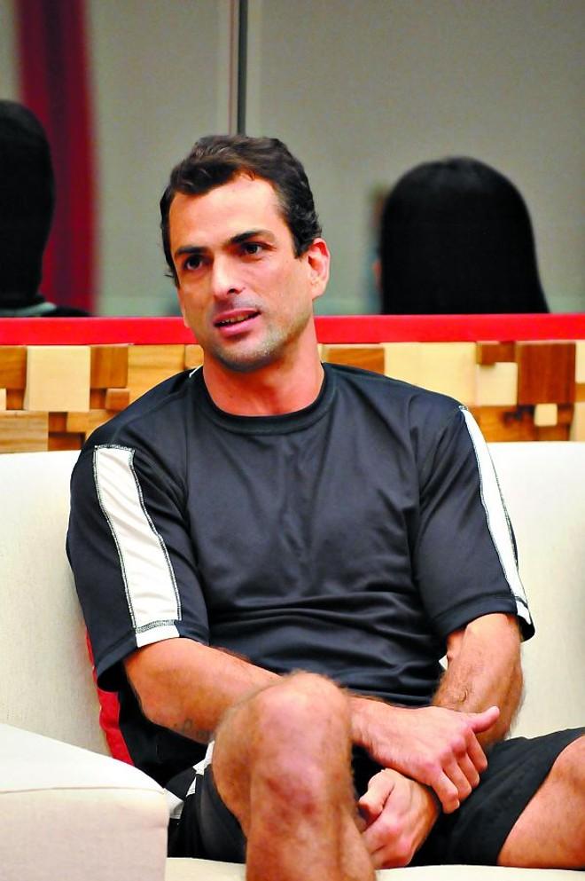 Dourado: 60% dos votos contra 29% de Fernanda e 11% de Cadu | Frederico Rozário/TV Globo
