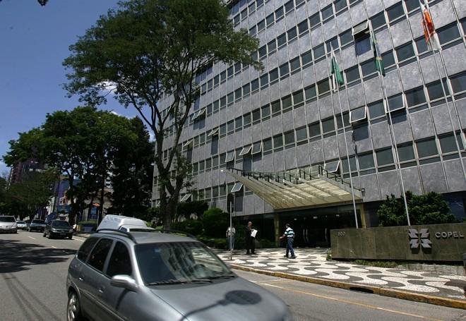 Sede da Copel: diretor jurídico da empresa, Zuudi Sakakihara, deixou o cargo   Marcelo Elias/ Gazeta do Povo