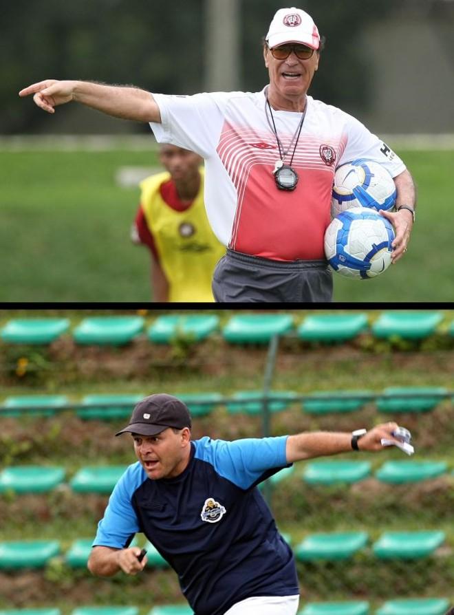 Antônio Lopes encerra sua quarta passagem pelo Atlético. Leandro Niehues, vice-campeão estadual com o J. Malucelli em 2009, é o novo treinador.   Jonathan Campos e Albari Rosa/ Gazeta do Povo