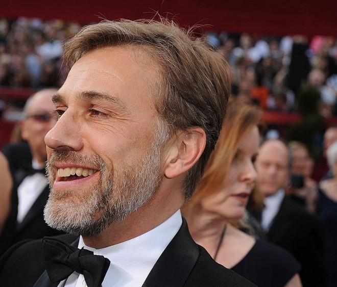 Christoph Waltz, uma das maiores barbadas da noite, levou o Oscar de melhor ator coadjuvante |
