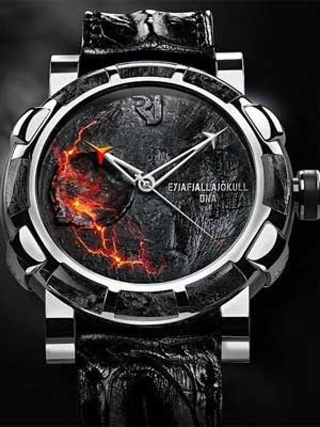 c08e7fcb0 Marca suíça faz relógio com cinza do vulcão islandês