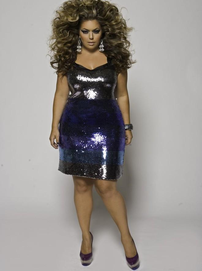 be7fdcd21e Fluvia Lacerda é uma das modelos plus size mais famosas do Brasil