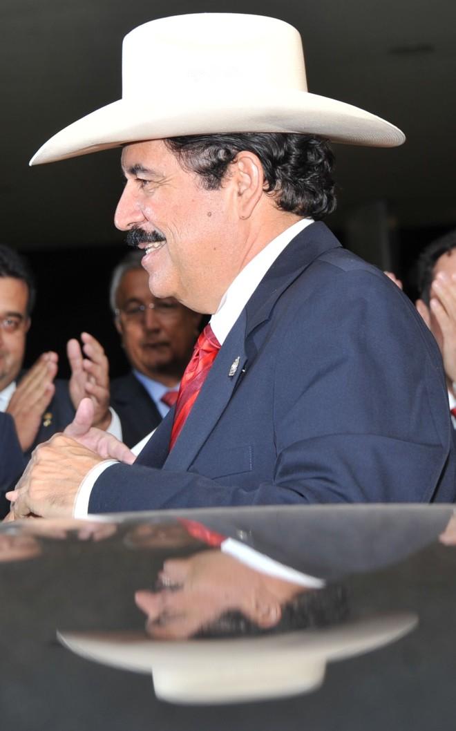 Manuel Zelaya: defenestrado do poder e levado para fora do país. | José Cruz/ABr