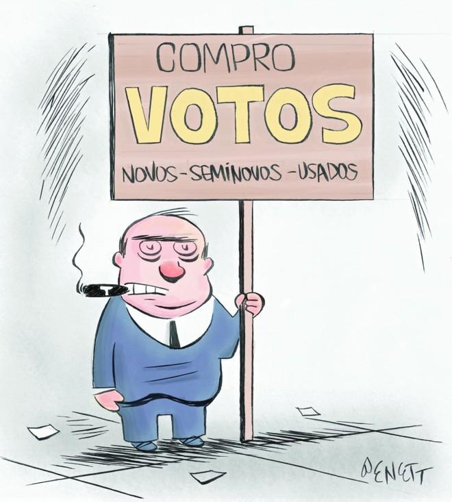 Resultado de imagem para compra de votos