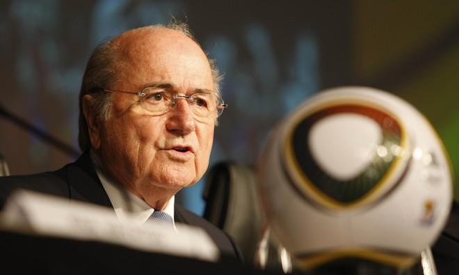 Blatter disparou contra campeões mundiais durante coletiva | Valterci Santos / Agência de Notícias Gazeta do Povo