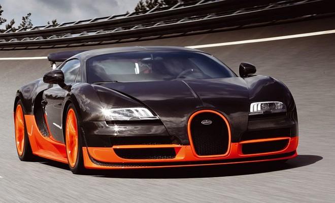Um Bolido Chamado Bugatti Veyron