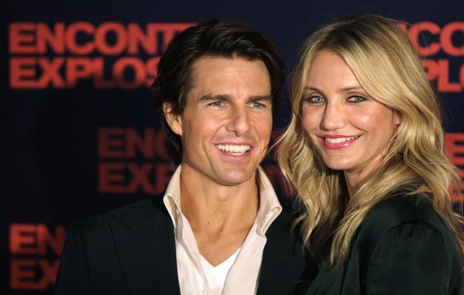 Tom Cruise e Cameron Diaz vão à pré-estreia de