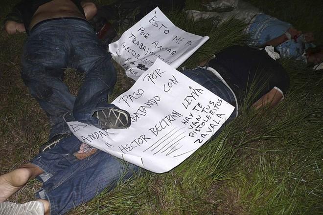 Corpos de mexicanos encontrados em Acapulco: mensagens de ameaça deixadas junto aos cadáveres seriam do cartel Beltran Leyva | Jesus Trigo/Reuters