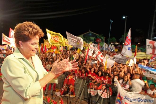 Dilma afirma que toda ajuda será bem vinda em caso de vitória | Roberto Stuckert Filho / Reuters