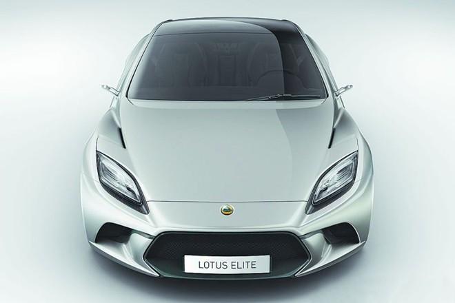 Lotus Elite aparece inicialmente em forma de conceito | Divulgação/Lotus