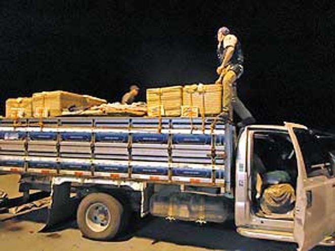 Fiscalização flagrou transporte irregular de queijo fresco sem documentação | Divulgação/PRF