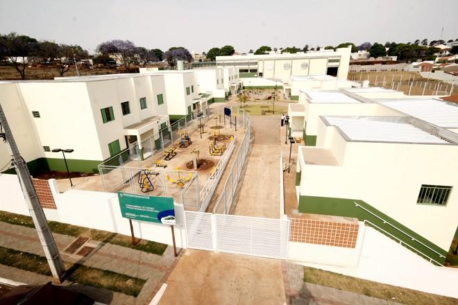 O Condomínio possui 40 apartamentos de 47 metros quadrados, com dormitório, banheiro, sala de visitas, cozinha, sanitário e lavanderia | Divulgação - PMM