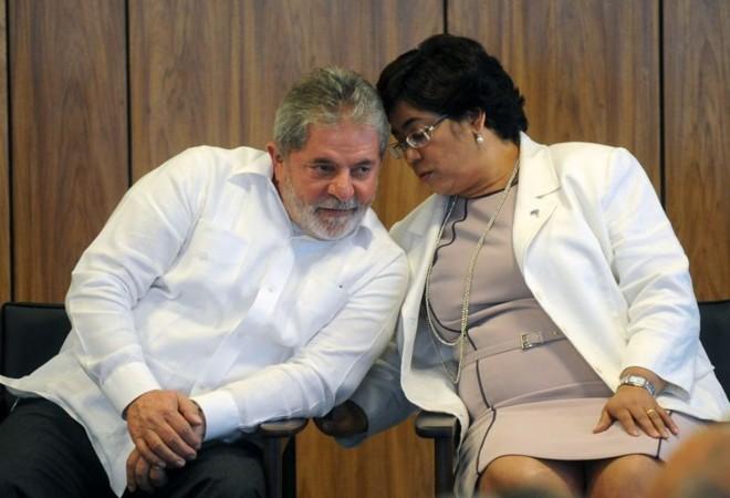 Lula e a ministra Erenice Guerra: Comissão de Ética Pública da Presidência vai investigar denúncia de lobby na Casa Civil | Antônio Cruz / ABr