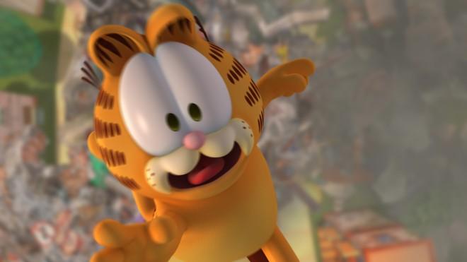 No novo filme, a aventura de Garfield vem acompanhada com a tecnologia 3D | Divulgação