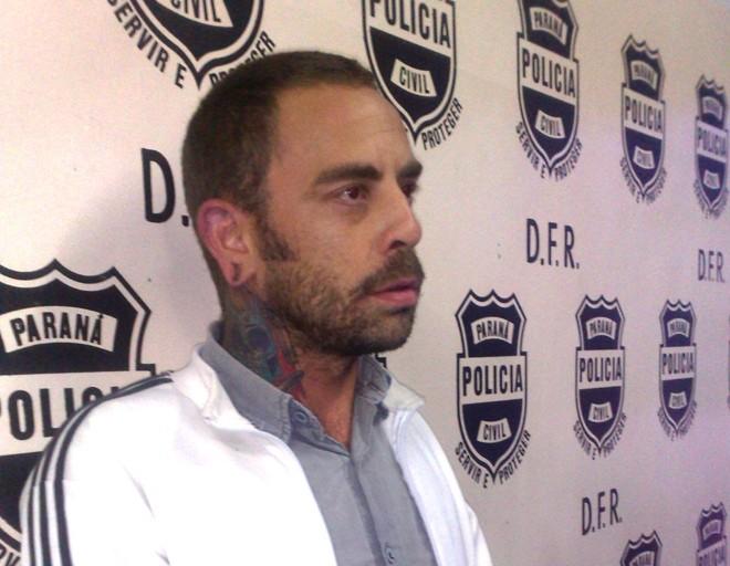 Santana está detido na carceragem da DFR | Felippe Aníbal/ Gazeta do Povo