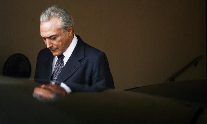 Vice recém-eleito, Michel Temer considerou o texto uma provocação | Ueslei Marcelino/Reuters