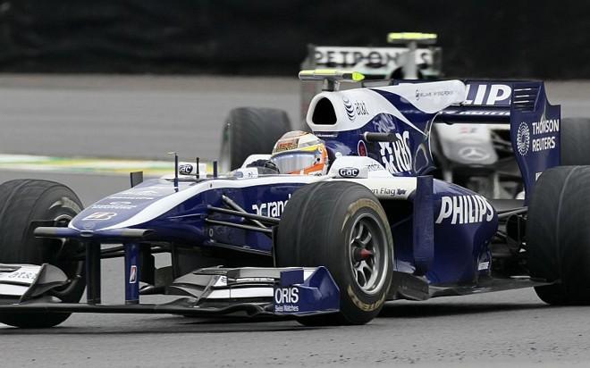 O alemão Nico Hulkenberg, estreante em Interlagos, surpreende os favoritos e marca a primeira pole da carreira | Sergio Moraes / Reuters