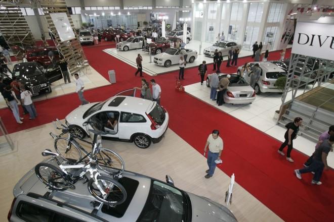 Carros de todas as marcas serão negociados durante os nove dias de evento | Ivonaldo Alexandre/ Gazeta do Povo