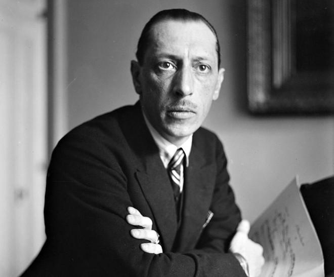 O compositor russo Igor Stravinski morreu há 40 anos em Nova York   Divulgação