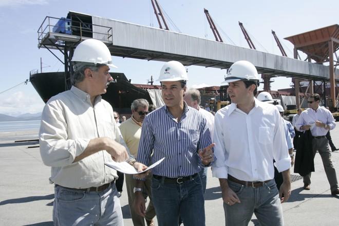O governador Beto Richa anunciou uma série de obras para o porto de Paranaguá | Antônio More / Agência de Notícias Gazeta do Povo