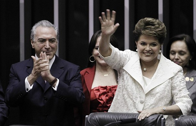 Temer e Dilma: suspensão de nomeações para o segundo escalão. | Reuters
